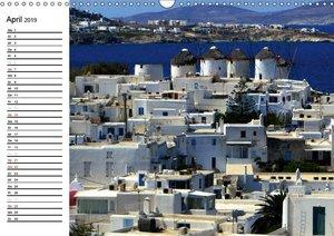 MYKONOS - Insel der Winde (Wandkalender 2019 DIN A3 quer)