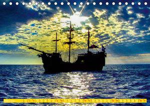 Mein Karibiktraum (Tischkalender 2019 DIN A5 quer)