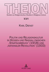 Politik und Religionskultur in Hessen und Nassau zwischen 'Staat