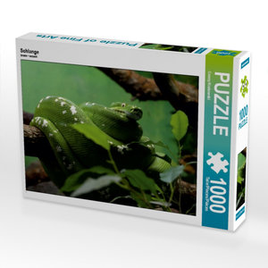 Schlange 1000 Teile Puzzle quer