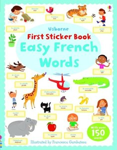 First Sticker Book: Easy French Words