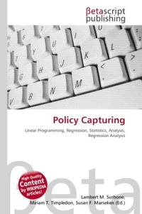 Policy Capturing