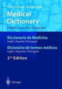 Medical Dictionary/Diccionario de Medicina/Dicionário de termos