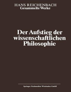 Der Aufstieg der wissenschaftlichen Philosophie