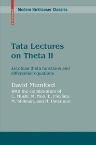 Tata Lectures on Theta II