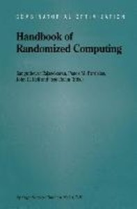 Handbook of Randomized Computing