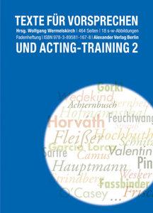 Texte für Vorsprechen und Acting-Training 2