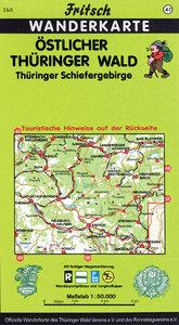 Östlicher Thüringer Wald / Thüringer Schiefergebirge. Fritsch Wa
