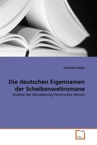 Die deutschen Eigennamen der Scheibenweltromane
