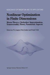 Nonlinear Optimization in Finite Dimensions