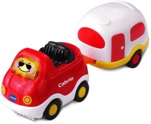 VTech 80-152404 - Tut Tut Baby Flitzer: Cabrio mit Wohnwagen