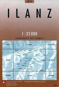 Swisstopo 1 : 25 000 Ilanz