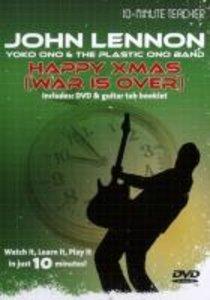 10 Minute Teacher John Lennon Happy XMas (war is over) Gitarre