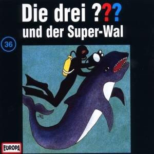 Die drei ??? 036 und der Super-Wal. (drei Fragezeichen). CD