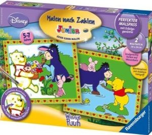 Ravensburger 27724 - Disney: Winnie the Pooh im Frühling, MNZ, M