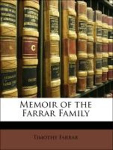 Memoir of the Farrar Family