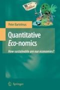 Quantitative Eco-nomics