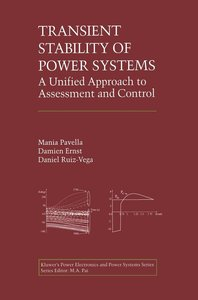 Transient Stability of Power Systems