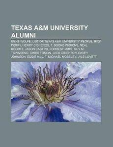 Texas A&M University alumni