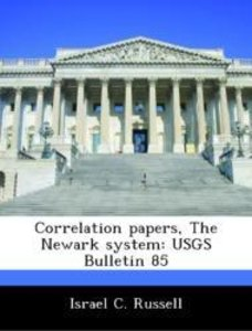 Correlation papers, The Newark system: USGS Bulletin 85
