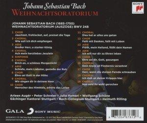 Bach: Weihnachtsoratorium (Auszüge)