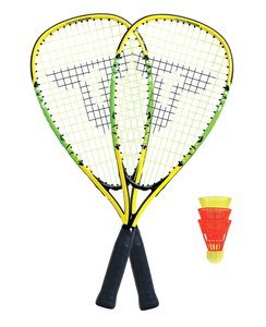 Talbot Torro 490104 - Speed Badminton Set 4000 im 3/4 Bag, Black