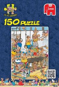 Jumbo 17455 - Jan van Haasteren - Fitnessstudio - 150 Teile