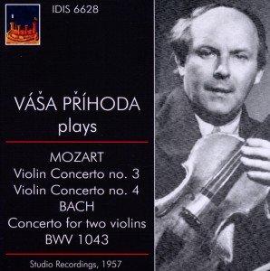 Prihoda spielt Mozart und Bach