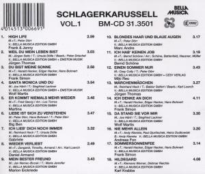 Schlagerkarussell Vol.1