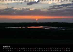 Wide landscape / UK-Version (Wall Calendar 2015 DIN A3 Landscape