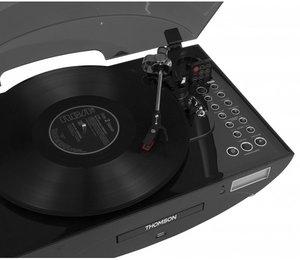 Thomson Plattenspieler TT400CD Ellipse, schwarz