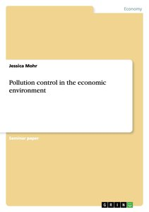 Pollution control in the economic environment
