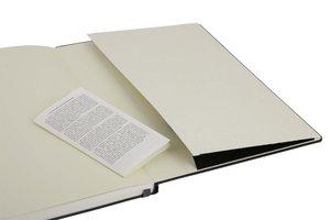 Moleskine Folio Professional Notizbuch liniert schwarz