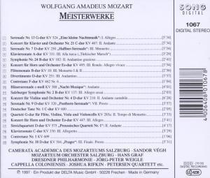 Mozart-Meisterwerke 1