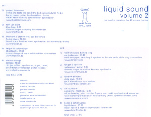 Liquid Sound Vol.2 - zum Schließen ins Bild klicken