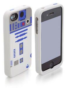 Joy Toy 521812 - R2-D2 Silikon Case iPhone 4