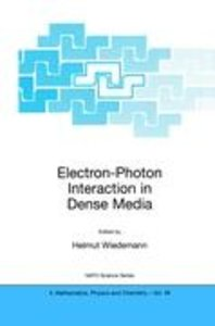 Electron-Photon Interaction in Dense Media