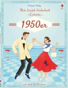 Mein Anzieh-Stickerbuch Zeitreise: 1950er