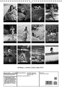 simbiosa ... fine art nude photography 2015 (Wall Calendar 2015