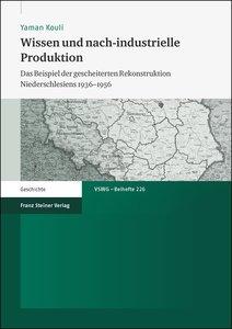 Wissen und nach-industrielle Produktion