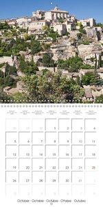 Bienvenue en Provence (Calendrier mural 2015 300 × 300 mm Square