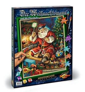 Schipper Malen nach Zahlen - Der Weihnachtsmann und die Eisenba