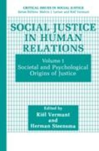 Social Justice in Human Relations