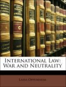 International Law: War and Neutrality