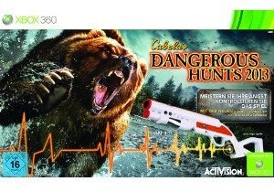 Cabelas Dangerous Hunts 2013 Bundle inkl. Top Shot Elite Gun