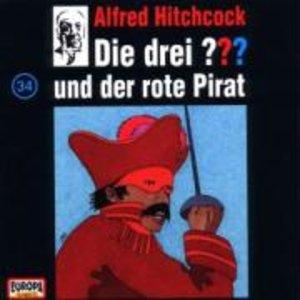 Die drei ??? 034 und der rote Pirat. (drei Fragezeichen). CD