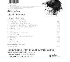 Pelleas et Melisande/Siegfried-Idyll/+