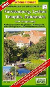 Fürstenberg, Lychen, Templin, Zehdenick und Umgebung Radwander-
