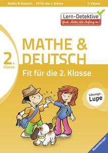 Fit für die 2. Klasse Mathe und Deutsch