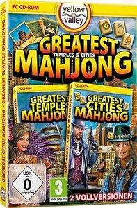 Yellow Valley: Greatest Cities Mahjong + Greatest Temples Mahjon